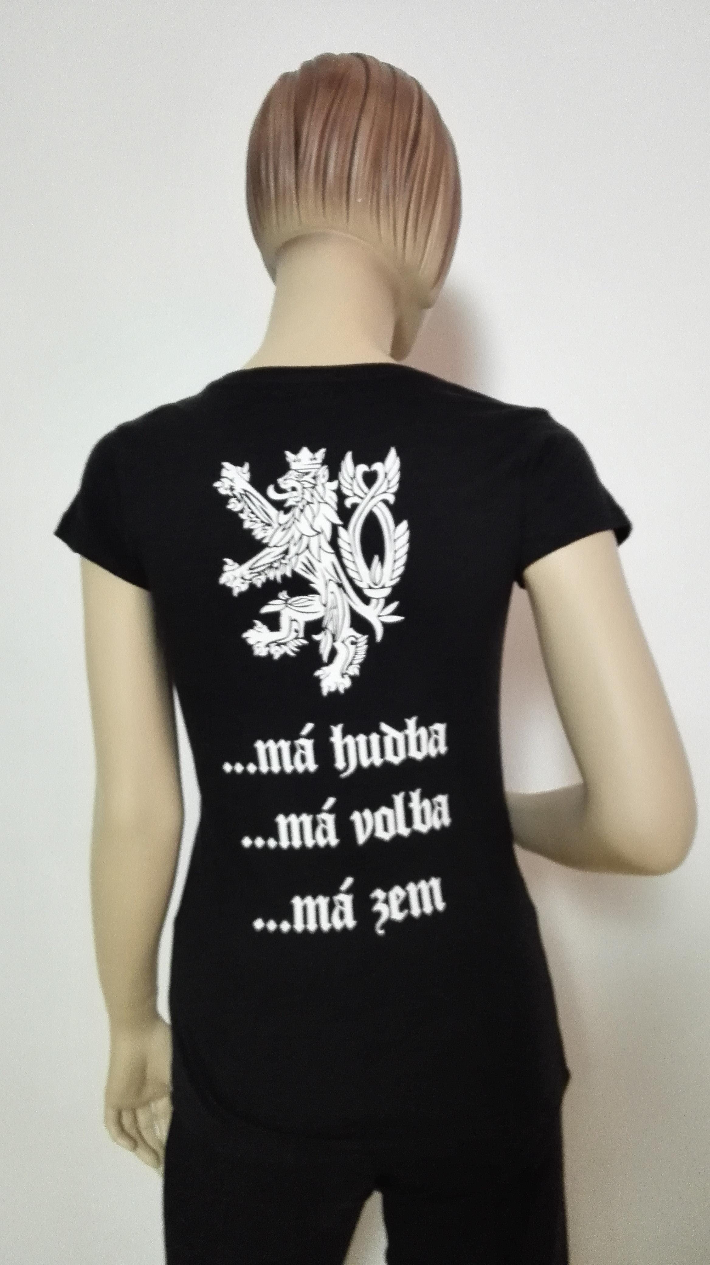 Dámské tričko Má hudba b114628b06