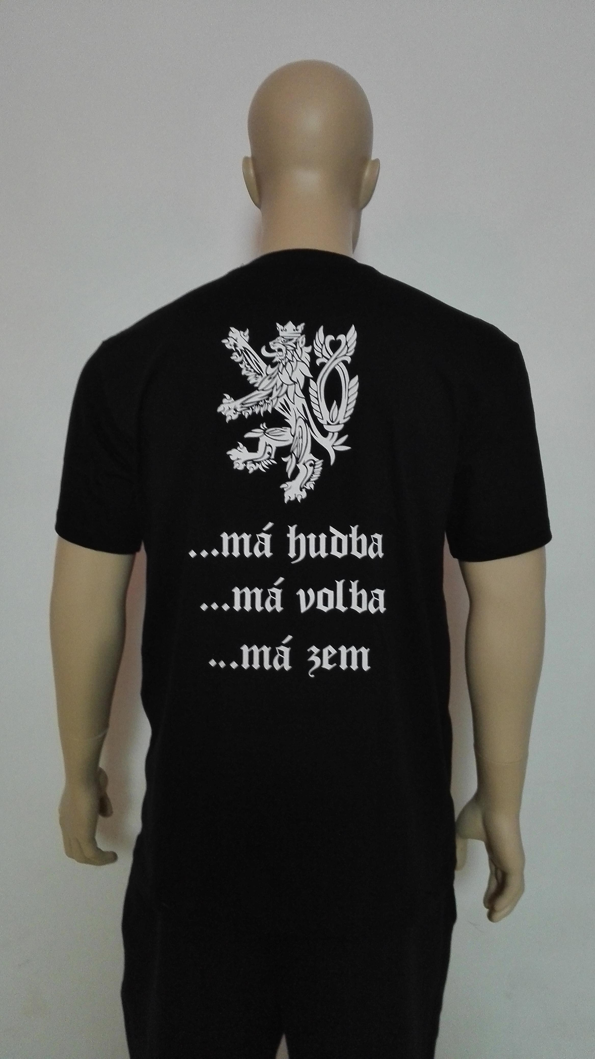 Pánské tričko Má hudba 9fb99ade88